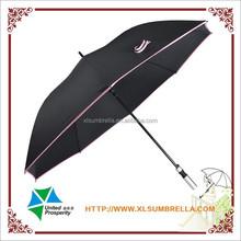 Promotional aluminum handle big straight umbrella