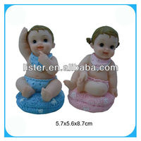 Resin decoration baby doll figure