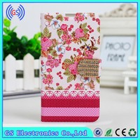 Flower Wallet Leather Case For Samsung Galaxy s5 ,Chrome Knuckle Case For Samsung Galaxy s5, For Samsung Galaxy S5