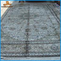 handmade silk persian design machine wash carpets