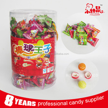 Round shape bubble gum ball for kids on promotion