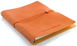 a5 a6 leather soft cover notebook pu covering materials for business or sales promotion