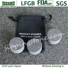 Dia 3.5cm whisky round stone | cold rock stone