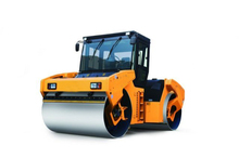 China 13 ton full hydraulic double drum vibratory road roller