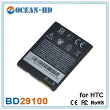 3.7v 1230mah for HTC BD29100 rechargeable li ion battery cell