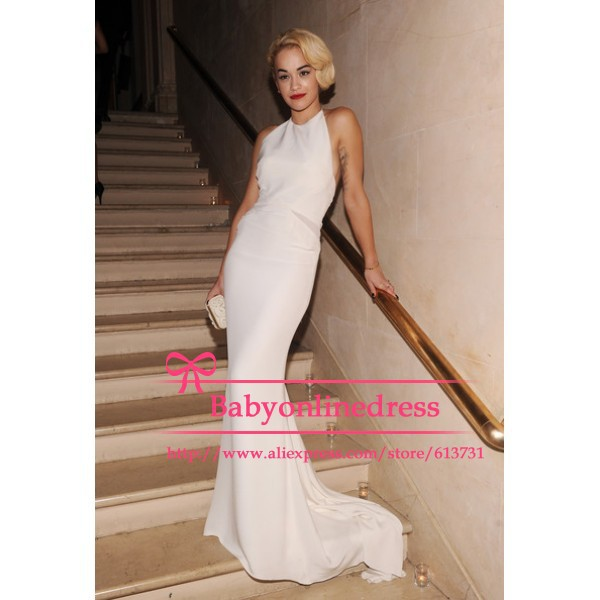 White Designer Dresses - KD Dress