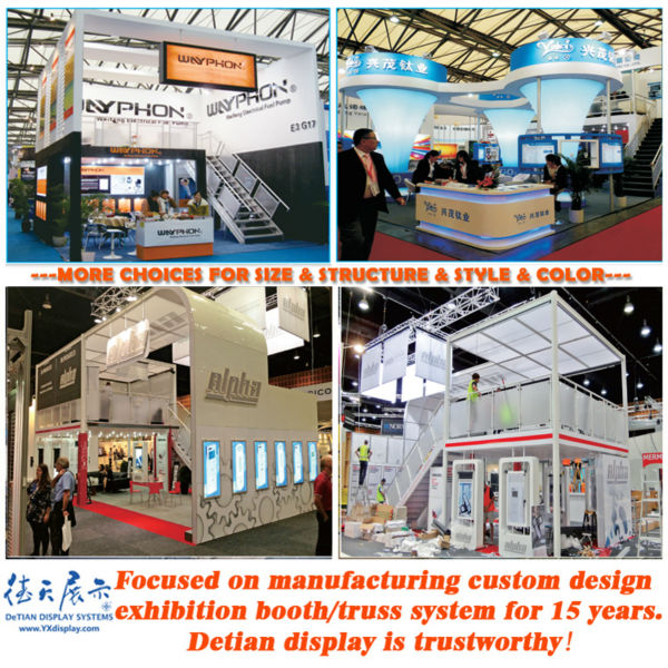 Exhibition Booth Structure : Exhibit modular stand acrylic trade show display booth
