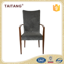Best price wood imiated and flannelette master home furniture dining chair