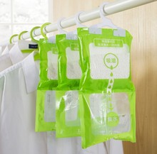 Provide Free samples 1000ml Hanging Moisture Absorber bag for cabinet