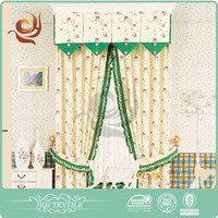 Latest designs Window use Modern swags n tails curtains