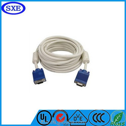 3 D high speed retractable rs232 vga cable 30m for wholesale