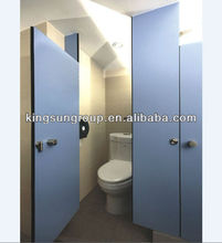 school or hospital compact laminate toilet partition