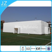 outdoor inflatable big size tent/inflatable tent cube