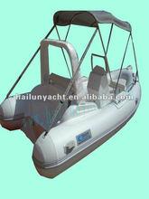 Best fiberglass fishing boat with shade