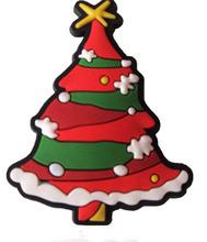 imanes PVC suave arbolito de navidad / imanes al por mayor para promocion, imanes decorativos para el refrigerador.
