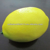 Real touch artificial fruit fake lemons