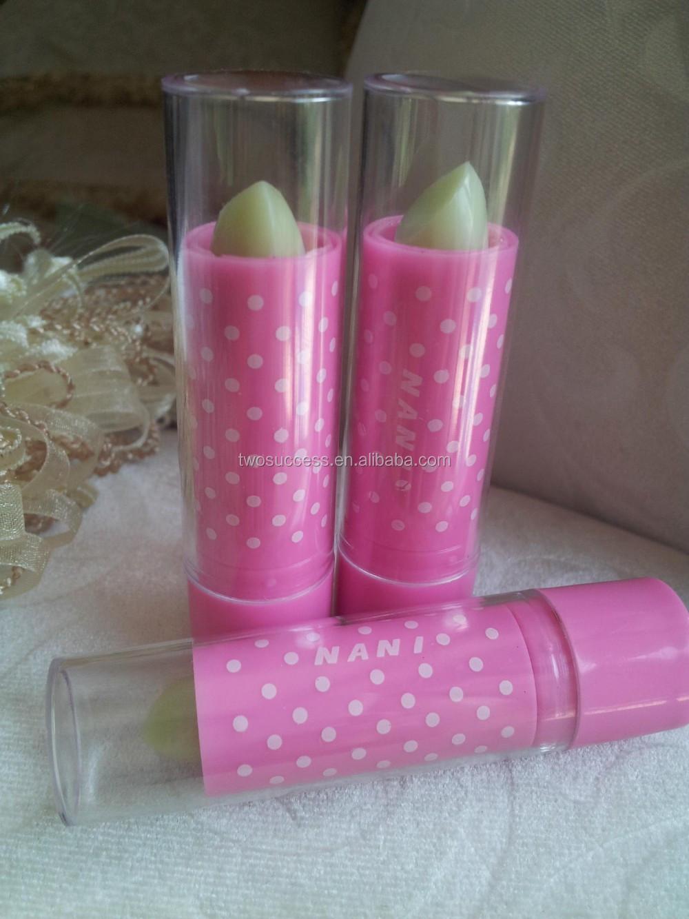 Fruit flavored waterproof lipstick