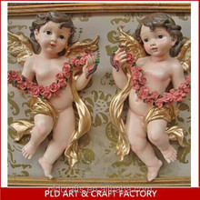 Resin Figurine hanging on the wall/Angel hanging on the wall
