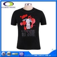 Custom nice funny sublimation logo 100 cotton 200 gsm t-shirts