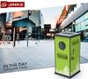 Innovative Eco-Green Advertising Rubbish Chute Bins For Sale