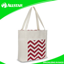 ASD2015A1023 Reusable 100% Cotton Printed Shopper Bag