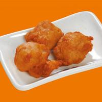Frozen fried karaage chicken nuggets