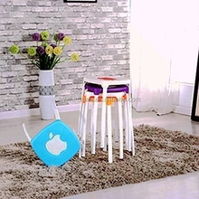 modern design cheap plastic stacking stools HYM-1002