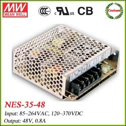 Meanwell switch mode power supply NES-35-48