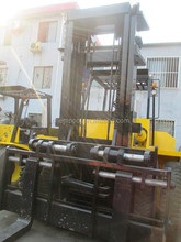 Used TCM forklift 10 ton for sale, with side shift, free lifter