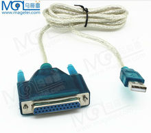 USB2.0 to printer DB25 25-Pin Parallel Port Cable Adapter