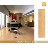 China Price Wooden Frame Ceramic Floor Tiles,wooden grain cermaic tile