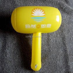 custom made inflatable advertising hammer,multi-color inflatable hammer toys