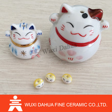 Fashion design Wholesale porcelain lucky cat