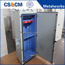 High Quality Aluminum Network Enclosure / precision customized aluminum box fabrication