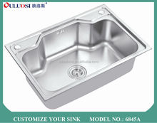 latest crazy selling stock product stainless steel sink hole cover 6845A