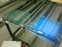 1.1mm*100mm*100mm ITO conductive glass