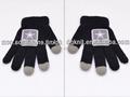 2015 etiqueta tejida iphone 6 guantes