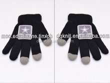 2015 woven label iphone 6 gloves