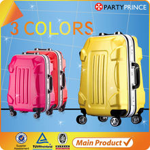vision plastic spinner luggage trolley