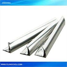 Brand new aluminum corner trim with mirror surface