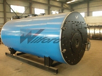 90% thermal efficiency imported burner hot water boilers
