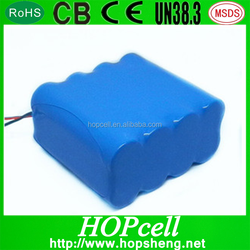 OEM battery 18650 14.8V sumsung lithium ion battery recharge 4S2P 5.2Ah li-ion battery pack