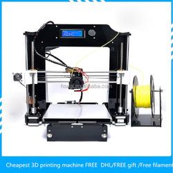 CE FCC approvel 9.5kg automatic delta big size of 200*200*210mm kossel 3d printer