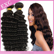 """Grade 7A wholesale indian 8-32"""" remy hair weaving 100% raw virgin indian hair cheap virgin indian deep curly hair"""