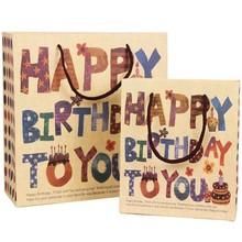 China TOP 10 Quanlity manufacture sample cheap cartoon design birthday paper bag wholesale