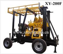 XY-200F máquina de perforación de pozos de agua
