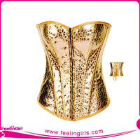 Best Selling Sexy sexy gold corsets and bustiers