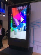high brightness 2500nits digital signage /information Kiosk for advertising,lg tv lcd display panel
