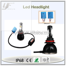YF high power super bright led off road light, 3600lm 6500k led head light for car