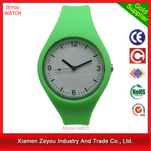 R1096 (*^__^*) High quality with competitive price quartz watch advance , Silicon band quartz watch advance